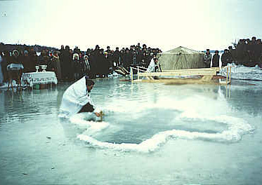 Святая Крещенская вода