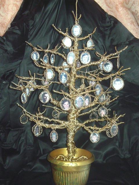 Генеалогическое дерево своими руками с фото