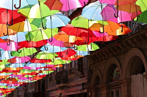 Небо в зонтиках