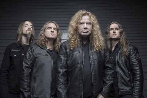 Легенда американского трэша Megadeth выступит в Москве