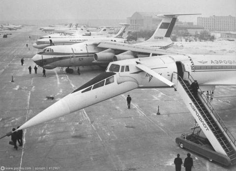 Катастрофа самолета Ту-144Д  23 мая 1978 года