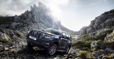 В России начали продавать обновленный Toyota LC Prado 2018