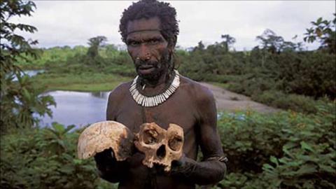 Это племя туземцев в Индии у…