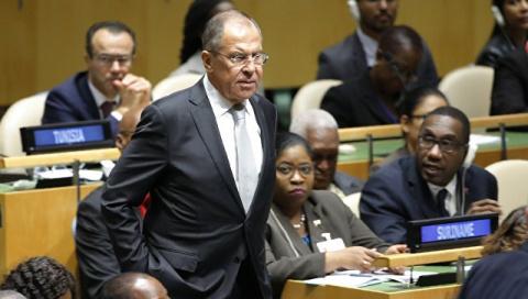 Лавров не пришел на выступление Порошенко в Совбезе ООН