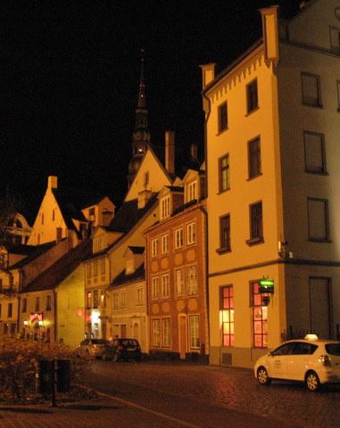 Рига ,старый город -постройки 14-16 век