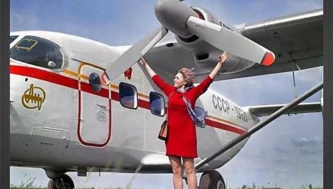 Реклама самолетов в СССР