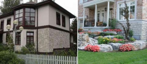 Использование натурального камня в процессе строительных и отделочных работ