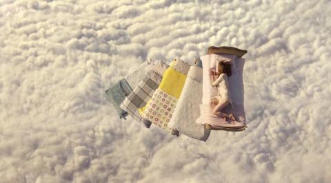 Полеты во сне и наяву с кроватями Ikea
