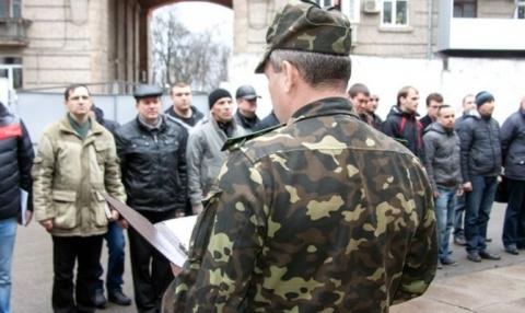 Украинский призывник вылетел из окна военкомата