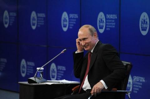 Шикарная речь Путина об Украине! 23.05.14
