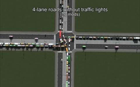 Различные виды перекрёстков …