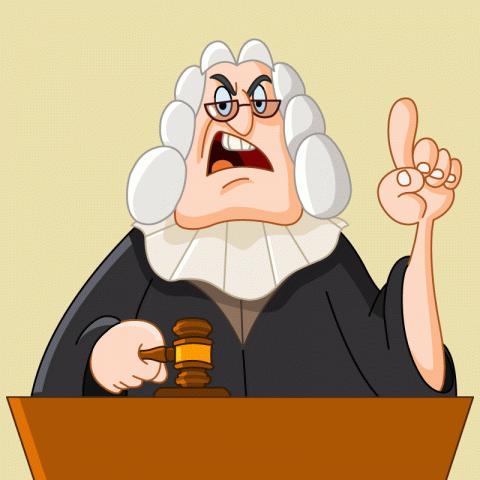 Судебный процесс вмаленьком городке…
