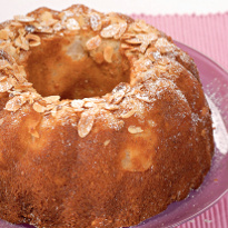 Десертный вихрь. Пироги с яблоками. Яблочный кекс с миндалём
