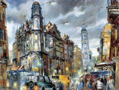 Работы Ивана Славинского