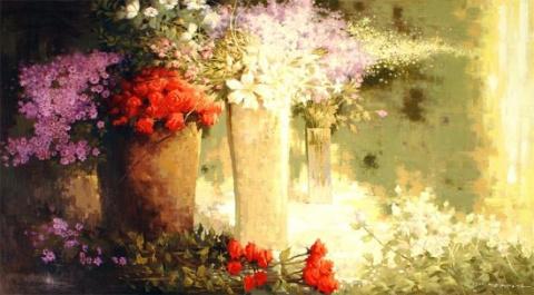 Картины художника Нам Тексу