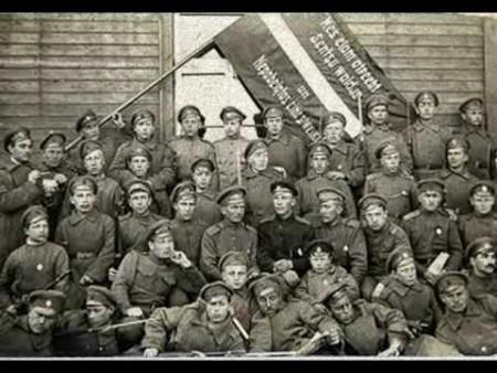 О роли латышских стрелков в революции, Гражданской войне и красном терроре