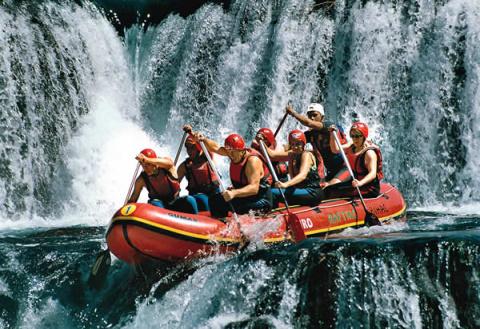Сумасшедший рафтинг crazy rafting