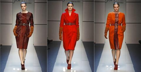 Мода для полных женщин осень-зима 2013-2014 от Elena Miro