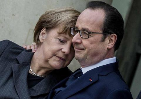 Тайна визита Меркель и Оллан…