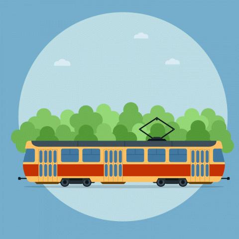 Одесский трамвай. КРабинови…