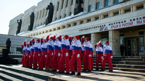 (ОБСЕ)ранцы:от России требуют Крым.