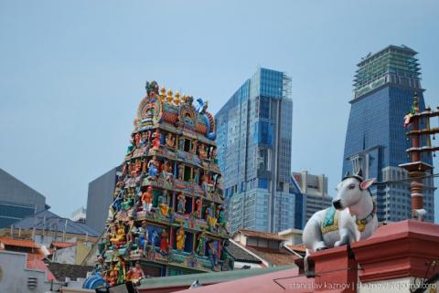 Сингапур: архитектура