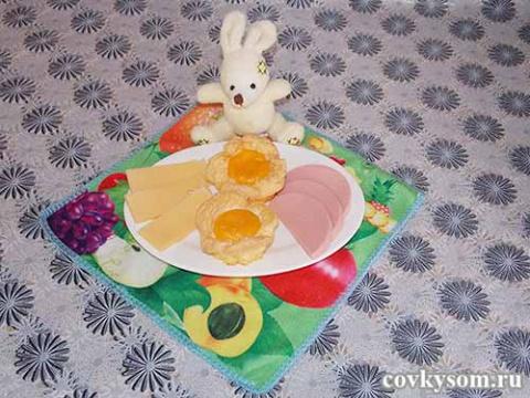 Яйцо, запеченное в духовке -…