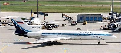 4 октября 2001 года взорвался на высоте 11000 м и рухнул в Черное море самолет Ту-154 российской авиакомпании «Сибирь».