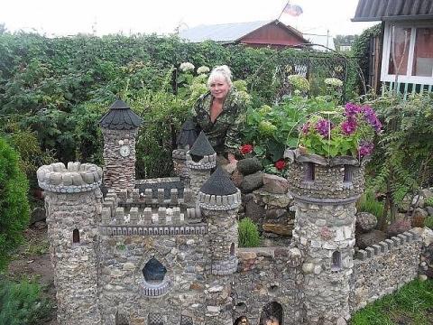 Я достроила замок!!))
