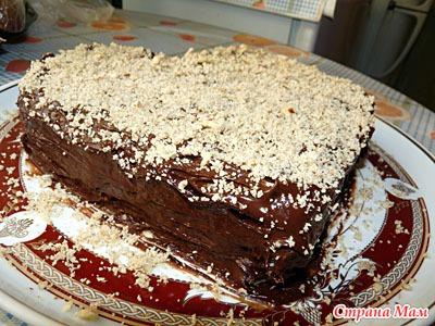 """""""Ленивый"""" торт (печь не надо!)"""
