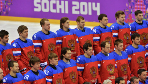 Сборная России по хоккею выс…
