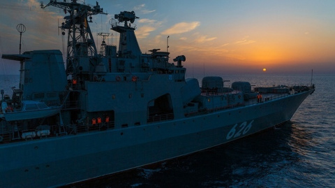 Express: британский фрегат проводил «Вице-адмирала Кулакова» из своих вод
