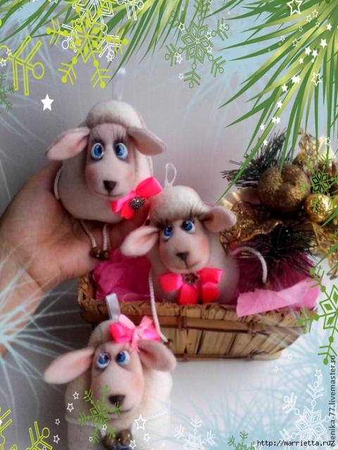 Такие милые овечки...