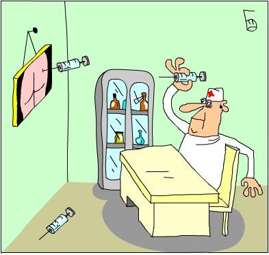 13 замечательных рисунков на медицинскую тему