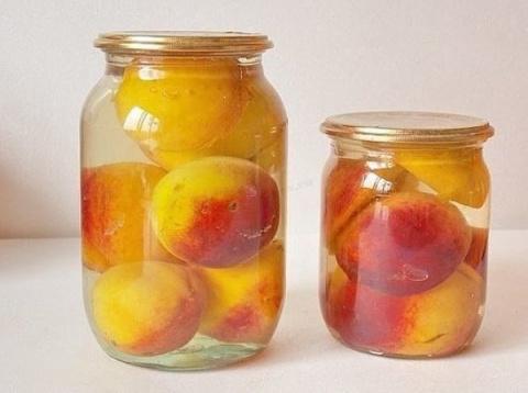 Консервированные персики — фантастический десерт