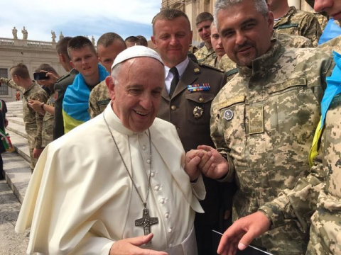 Папа Римский Франциск благословил украинцев уничтожать православных