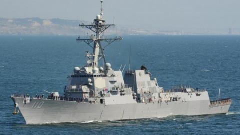 Американский эсминец нарушил…