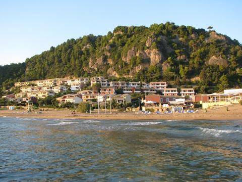 Глифада остров Корфу - Греция
