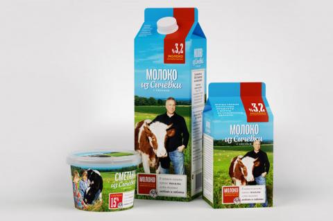 Редизайн для молока: сними с коровы смокинг
