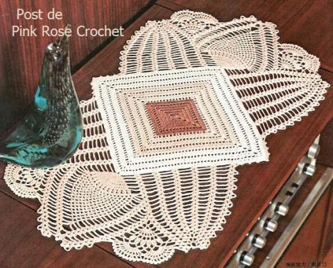 Toalhinha Esquisita - Croche - PRose Crochet