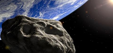 Российские ученые смоделировали движение гигантского астероида, который приближается к Земле,