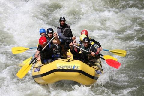 Опасности горных рек