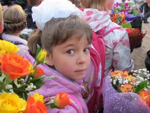 Моя внучка пошла в первый класс. Я поражен!