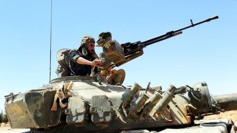 САА и силы ополчения выбили террористов из района Бир-Касаб под Дамаском