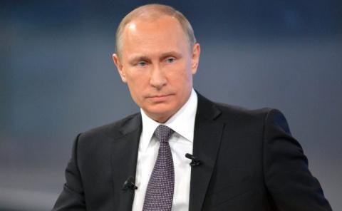 Путин на Параде Победы расск…