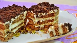 Суперский  торт БЕЗ ВЫПЕЧКИ …