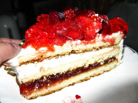 Торт «Палочка-выручалочка» за 15 минут!