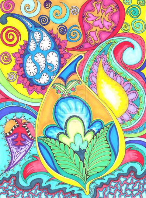 Современные направления в искусстве: Doodling, Zentangle и Zendoodle