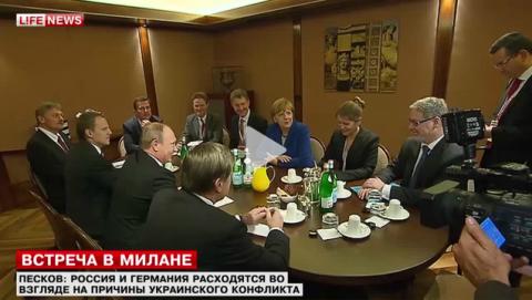 Песков: Россия и Германия по-разному смотрят на украинский конфликт