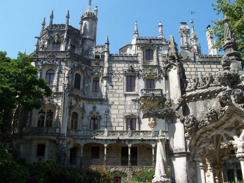 Сказочный дворец Кинта да Ре…